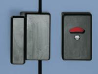 Kabinentür Verschlussriegel mit WC rot-weiss Anzeige