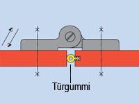 Federband: technische Zeichnung